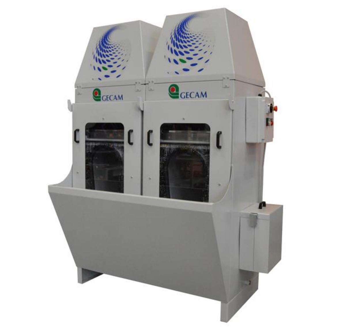 Urządzenia do odciągania pyłów, wiórów, opiłków, filtry mokre do oczyszczania powietrza po szlifowaniu