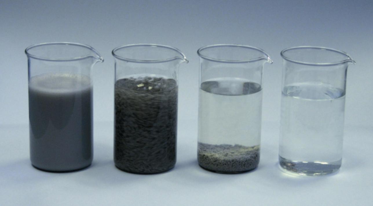 Systemy recyklingu, oczyszczanie wody potechnologicznej, centryfugi Rösler