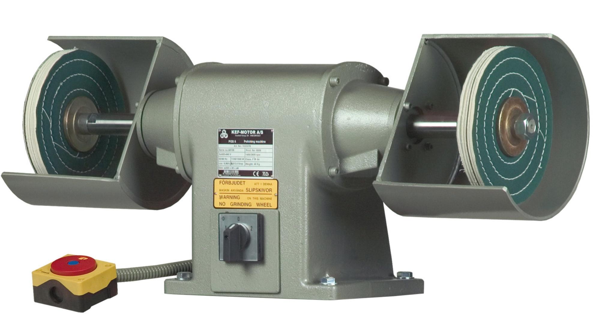 Polerka przemysłowa KEF Motor Model POD 8 - 2,0 kW