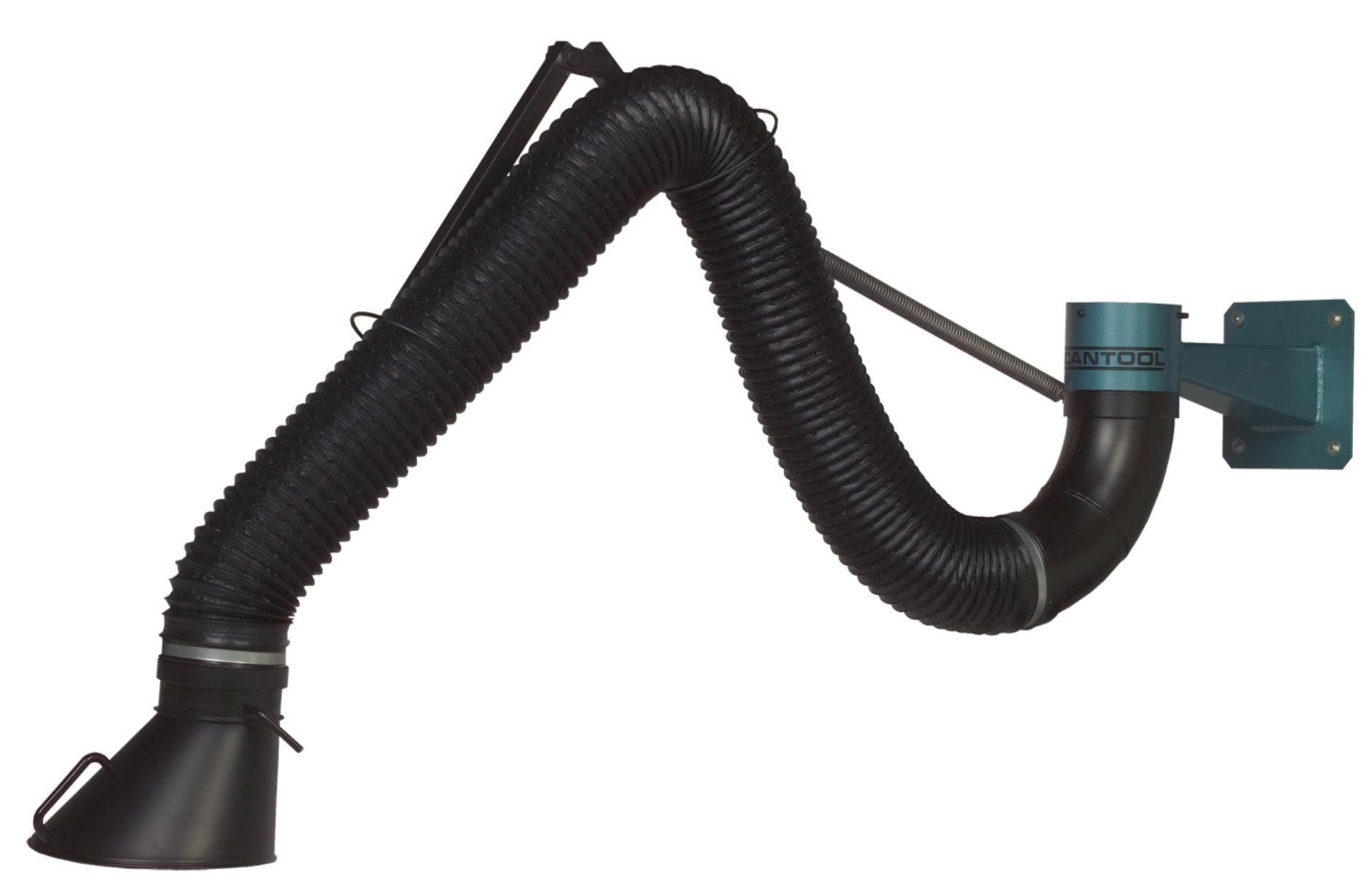 Ścienny odciąg dymów i pyłów Scantool Model RS