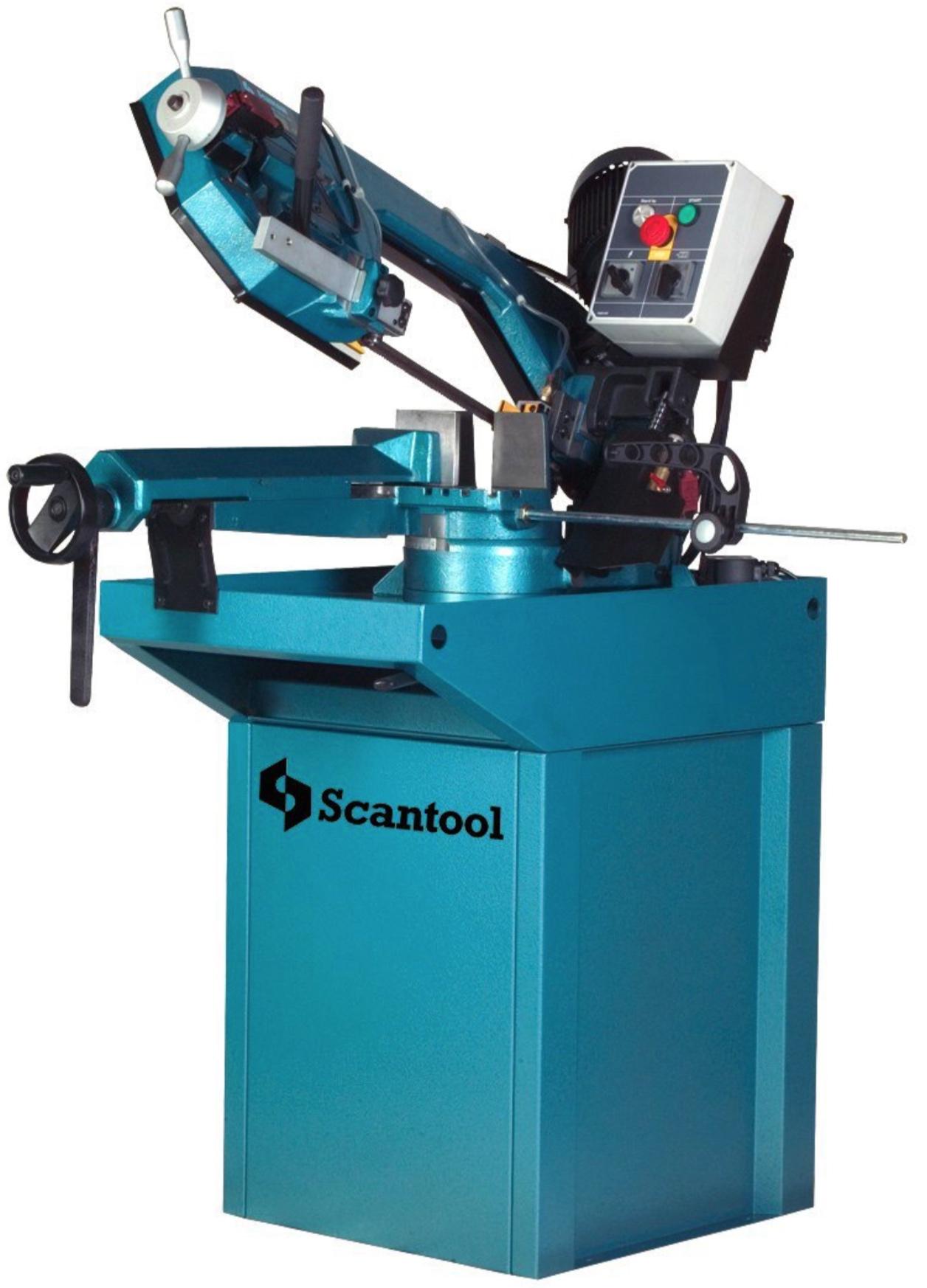 Przecinarka taśmowa do cięcia metalu pod kątami Scantool Model 220 GSHT