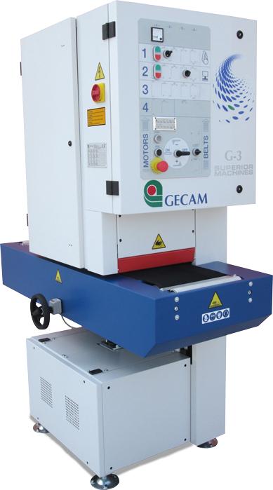 Szlifierka gratownica szerokotaśmowa GECAM G3 DRY - obróbka do 300mm