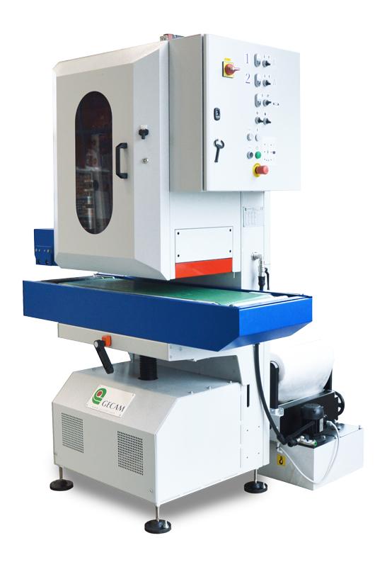 Szlifierka gratownica szerokotaśmowa GECAM G3 WET - obróbka na mokro do 300mm