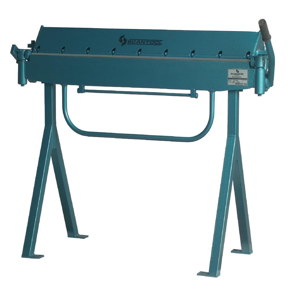 Ręczna zaginarka do blachy Scantool SCA 1050, giętarka manualna - długość robocza 1050 x 1,25mm