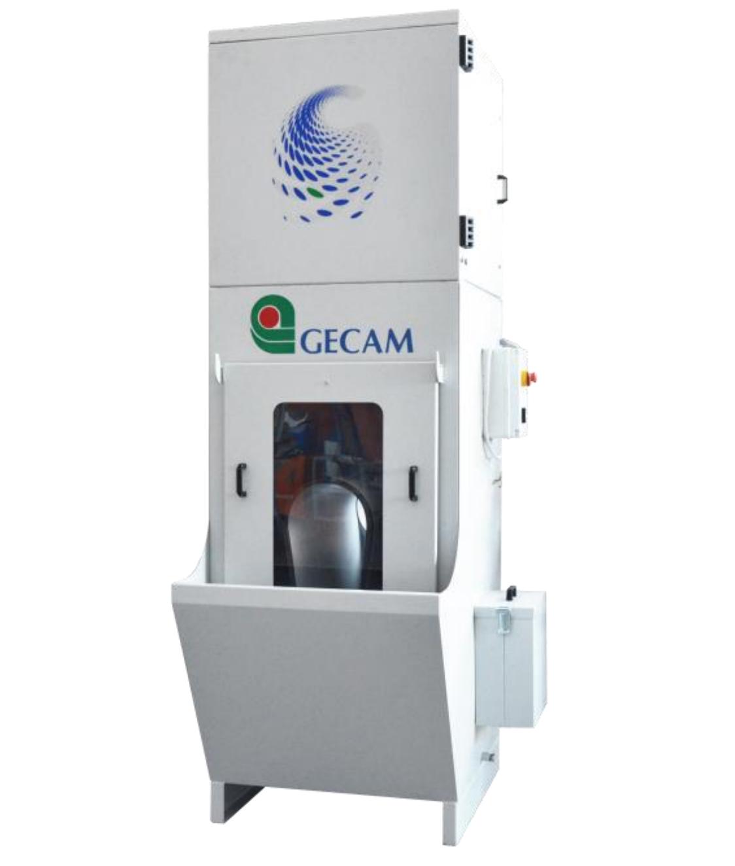 Filtr mokry do separacji pyłów i opiłków po szlifowaniu GECAM GFW 4000