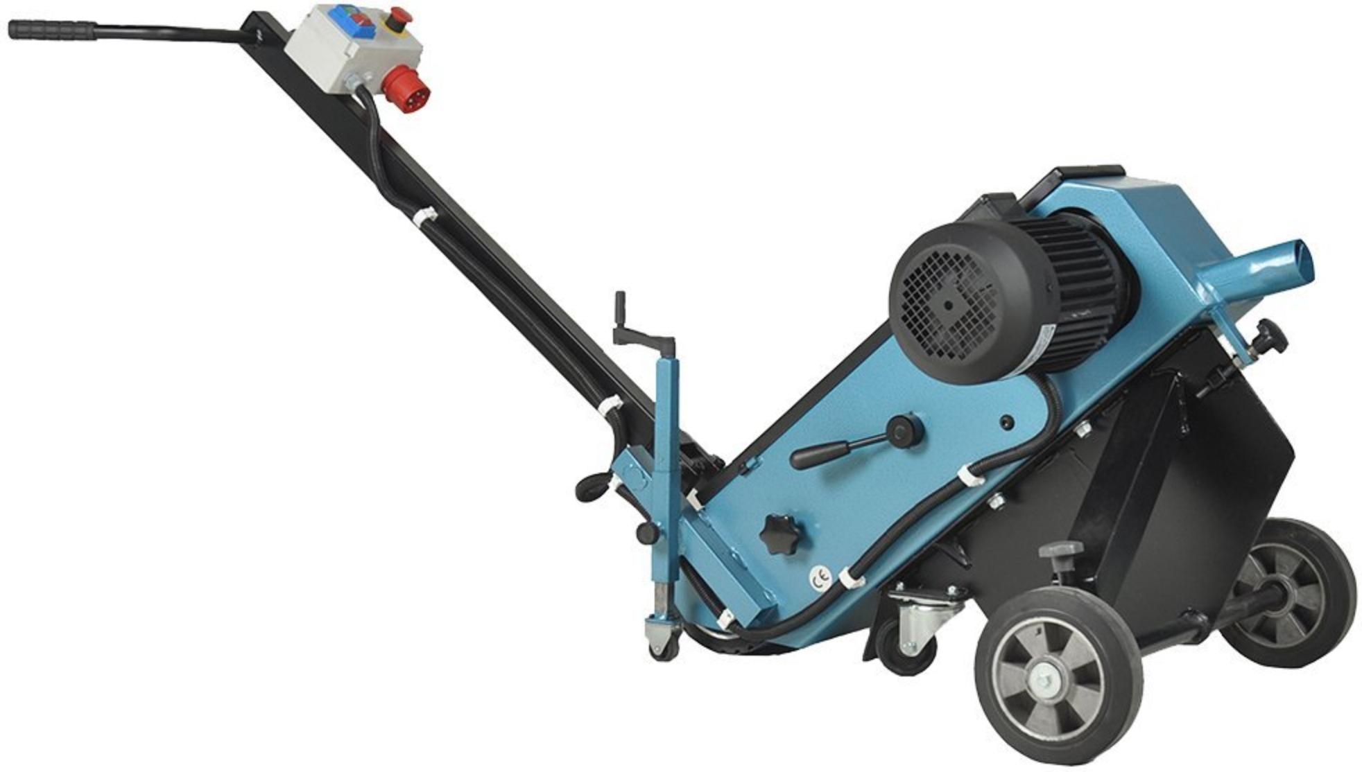 Szlifierka taśmowa Scantool 150FG do szlifowania spoin i spawów w posadzkach - 5,6 kW