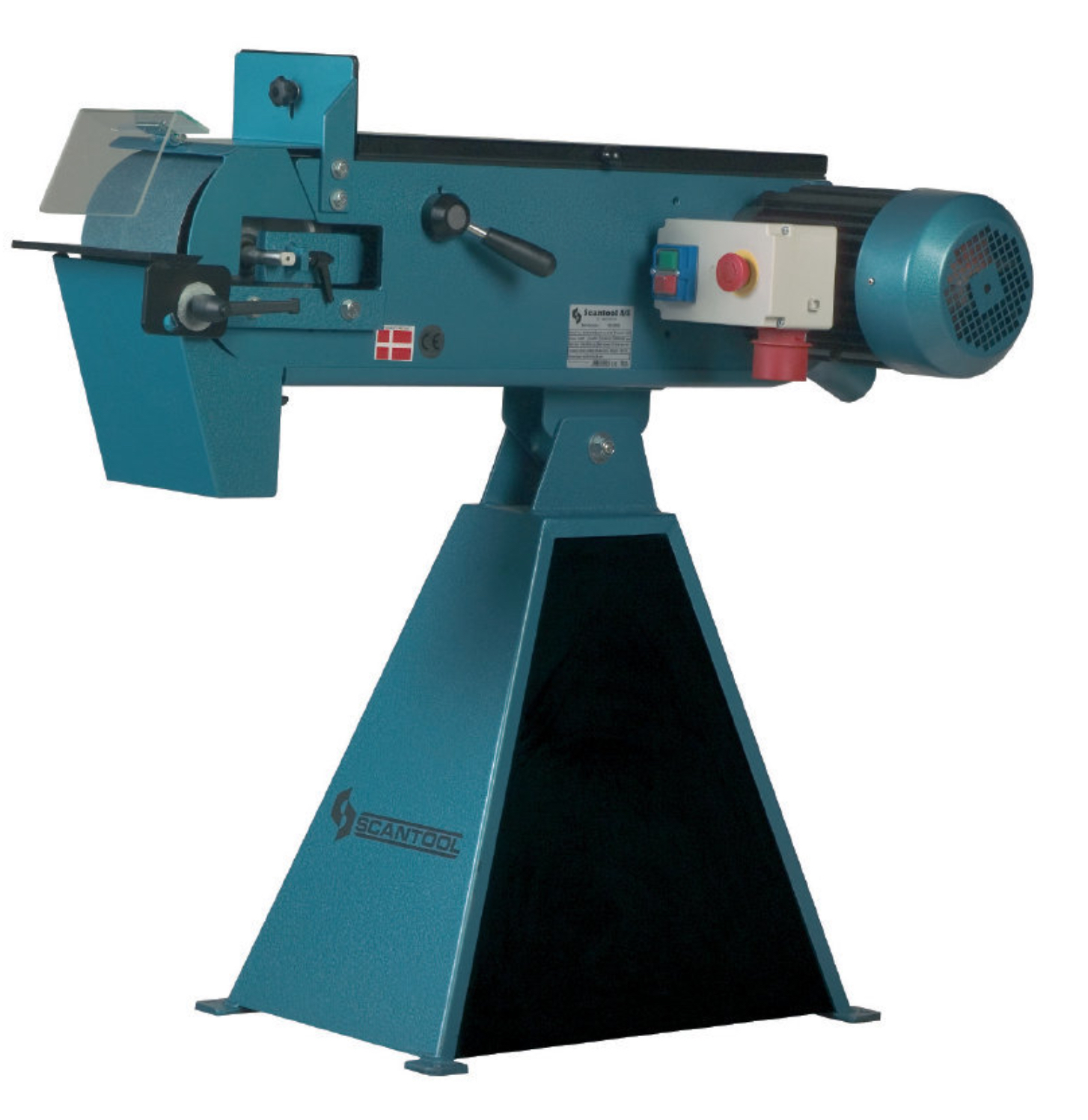 Szlifierka taśmowa Scantool 100x2000mm - 3,6 kW
