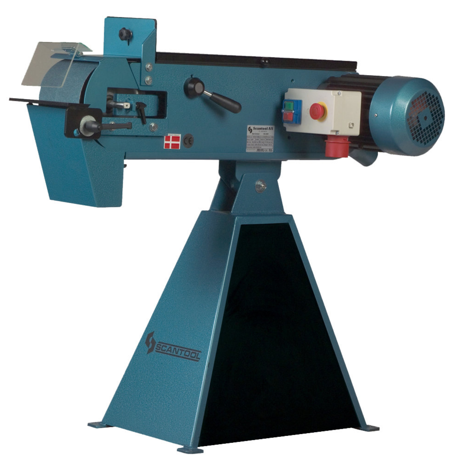 Szlifierka taśmowa Scantool 150x2000mm - 3,6 kW