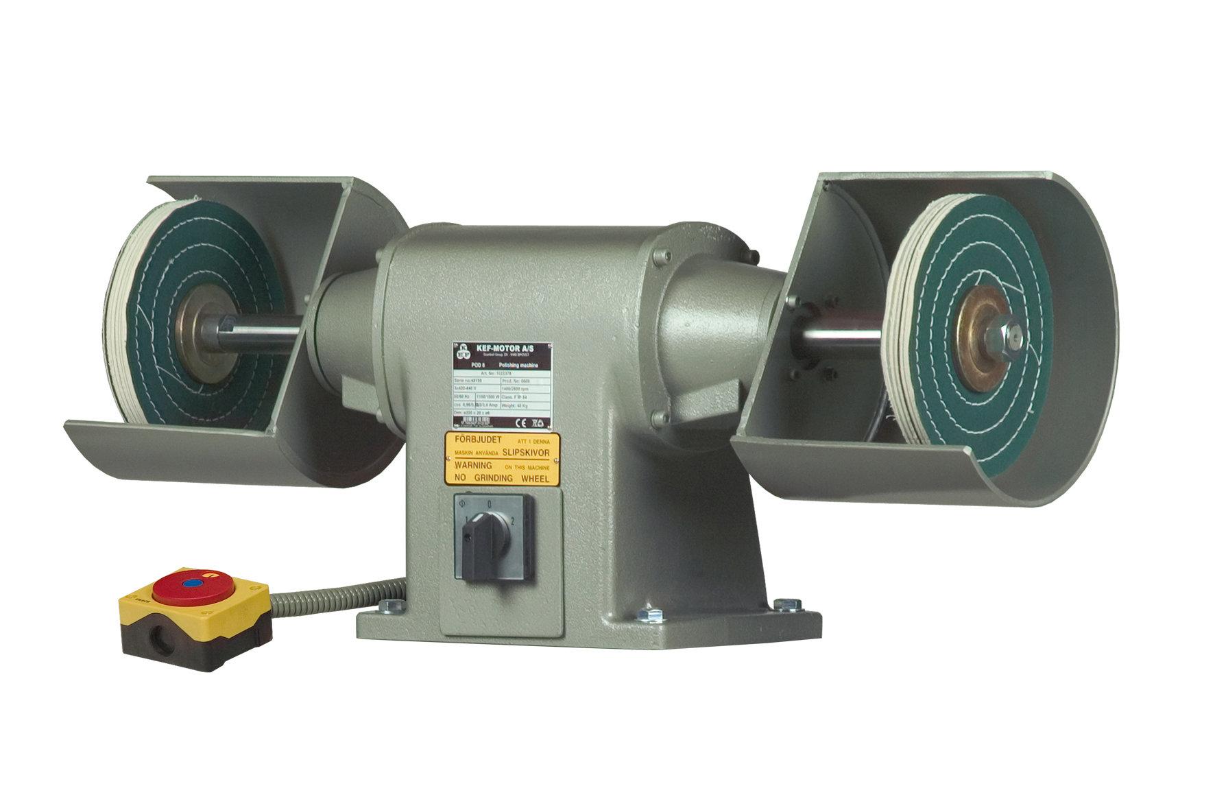 Polerka przemysłowa KEF Motor Model POD 8 - 2,2 kW