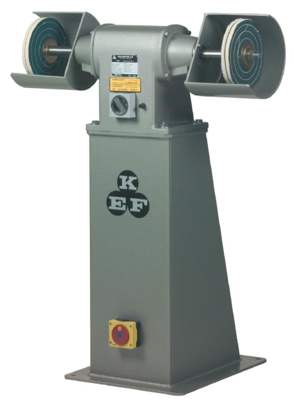 Polerka przemysłowa KEF Motor Model POD 8 - 2,2 kW - na podeście z falownikiem