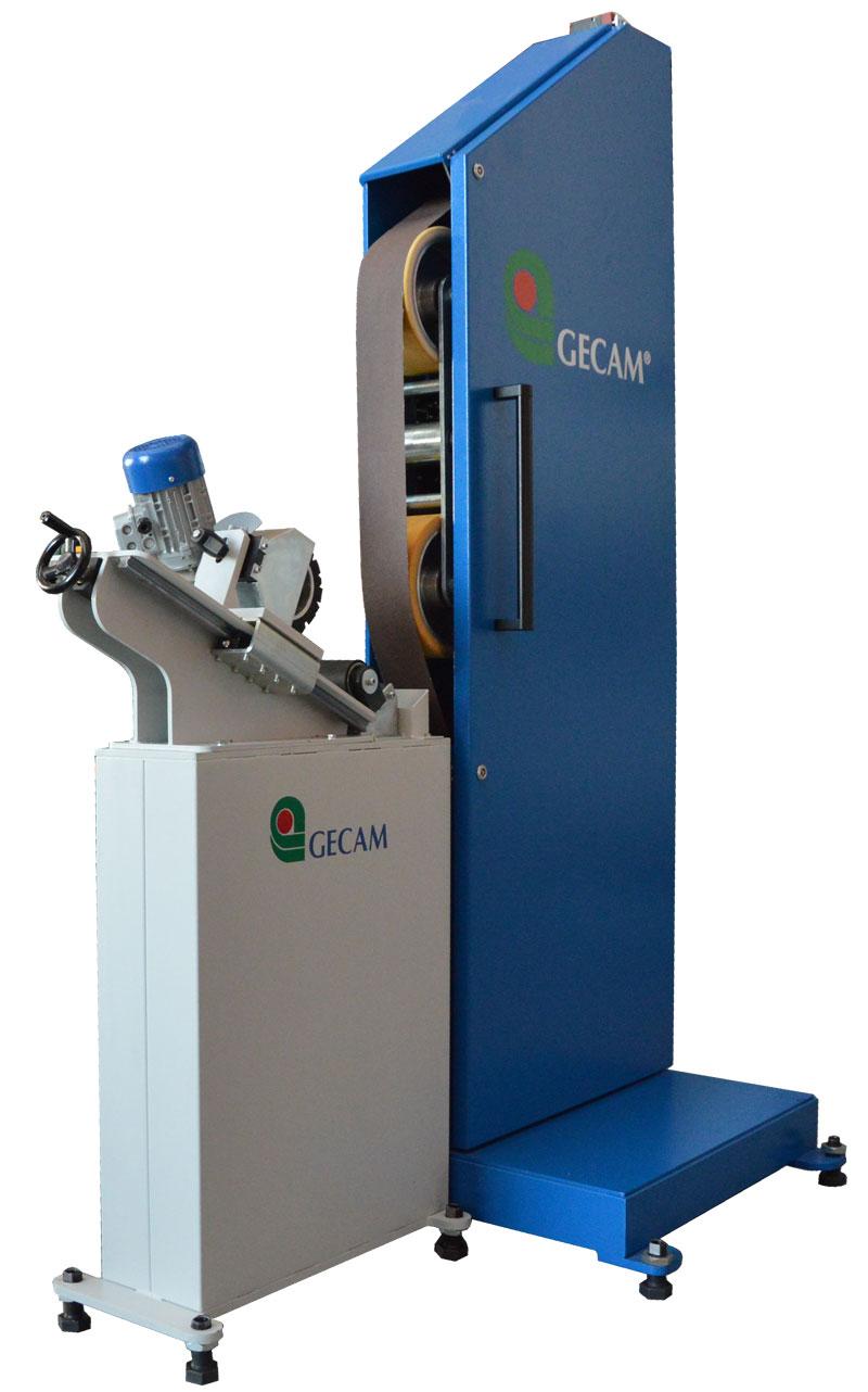 Szlifierka Gecam 228 do obwiedniowego szlifowania i polerowania rur o średnicy 10-400mm