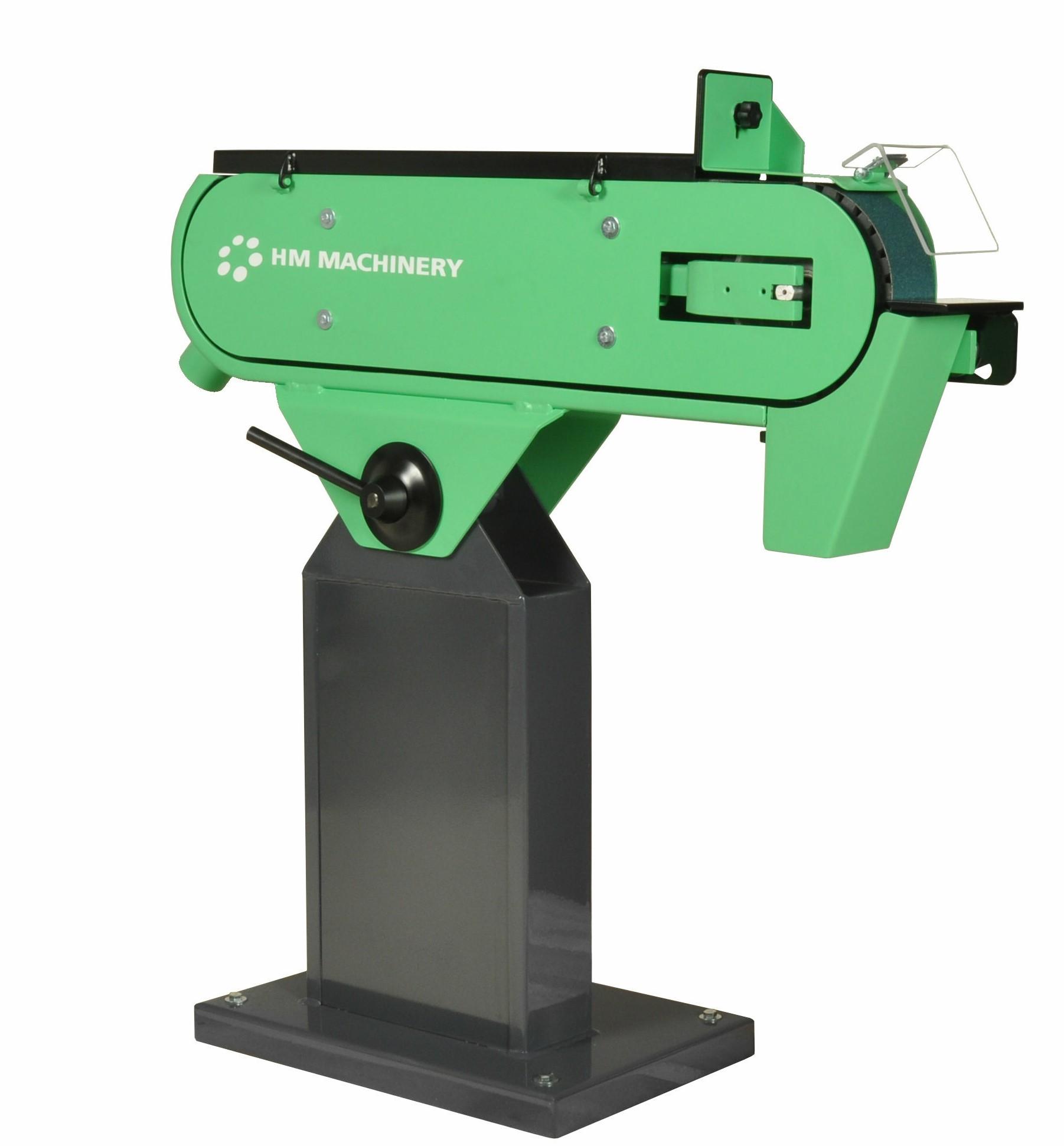 Szlifierki taśmowe - HM Machinery