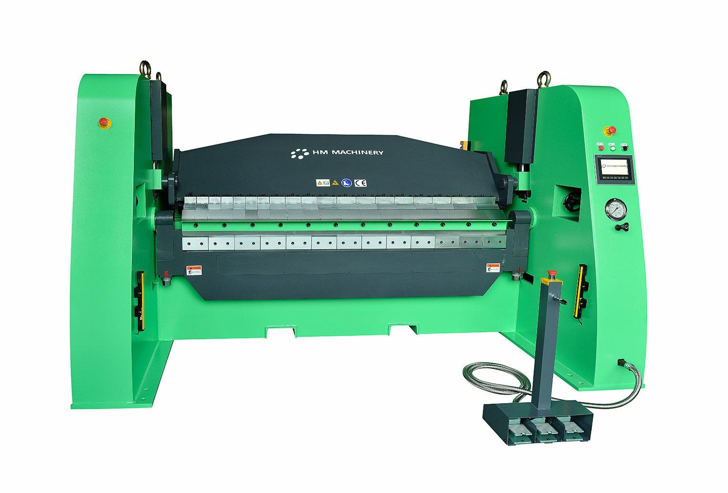 Hydrauliczna zaginarka do blachy Scantool - HM Machinery 1500-35S - długość robocza 1550 x 3,50mm