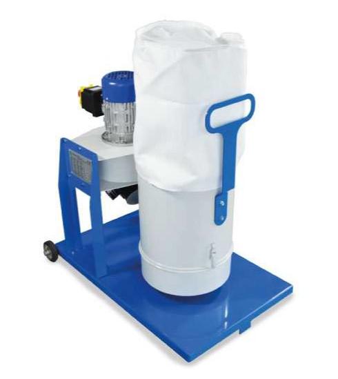 Filtr suchy do separacji pyłów i opiłków po szlifowaniu GECAM GDB 700 m3/h