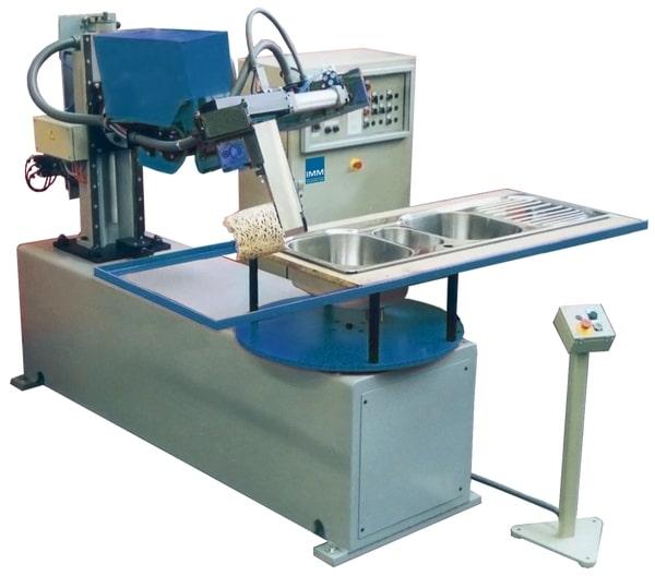 Centra obróbcze CNC do polerowania wypukłych powierzchni ze stali nierdzewnej