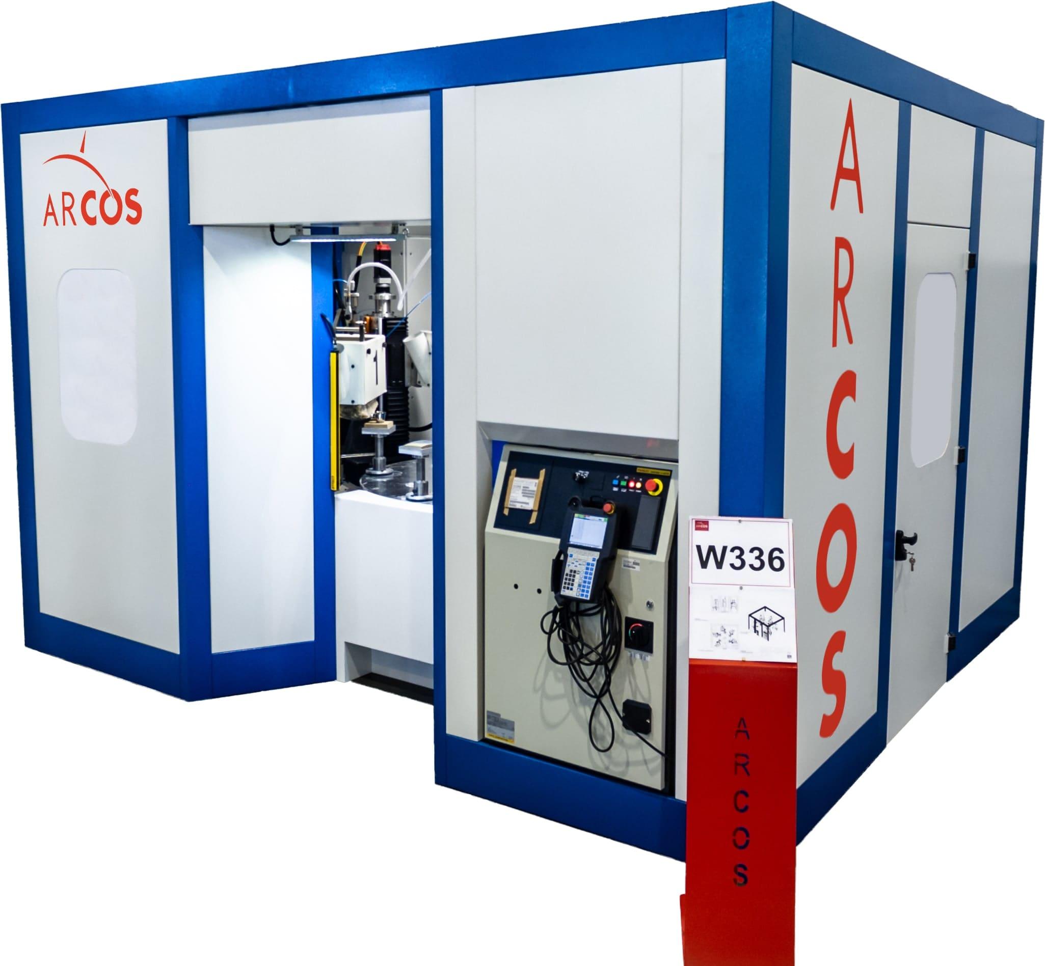 Stół rotacyjny CNC do obróbki powierzchniowej ARCOS