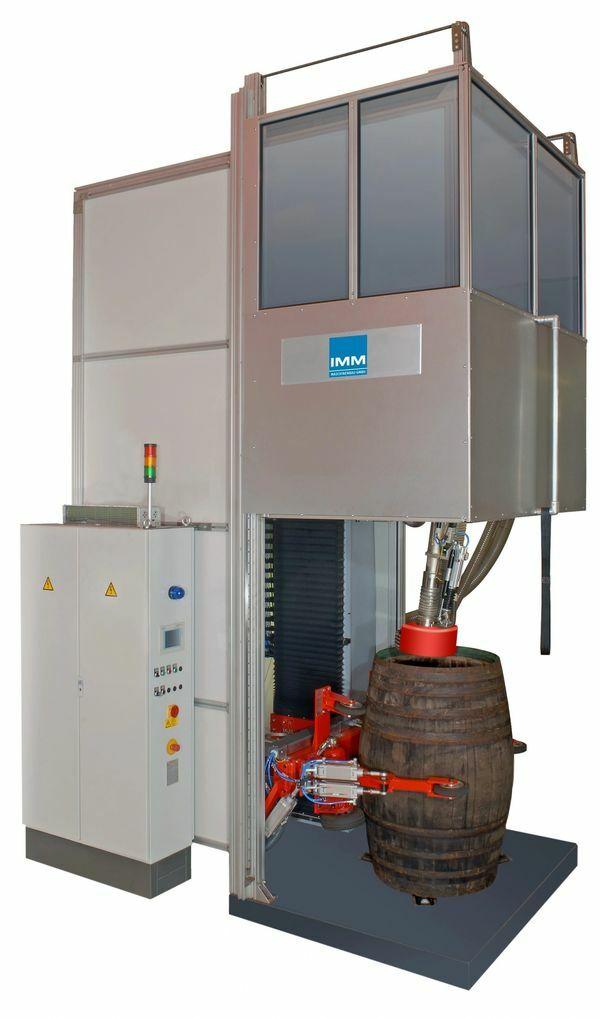 System IMM do automatycznej obróbki, regeneracji wszystkich typów beczek drewnianych